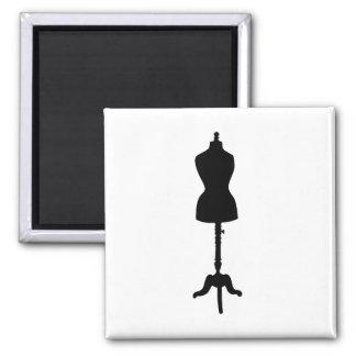 Dress Form Silhouette II Magnet