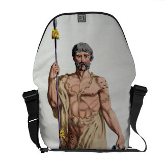 Dress of a Breton Warrior from 'Receuil des Estamp Messenger Bags