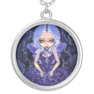 Dress of Storms NECKLACE Gothic Fairy pendant