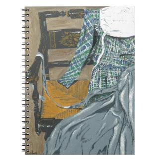 Dress on Chair Notebook