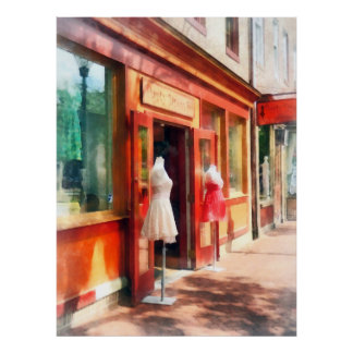 Dress Shop Fells Point MD Poster