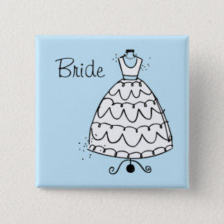 Dress Stand Bride Button