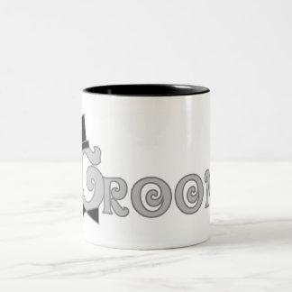 Dress Up Groom Two-Tone Coffee Mug