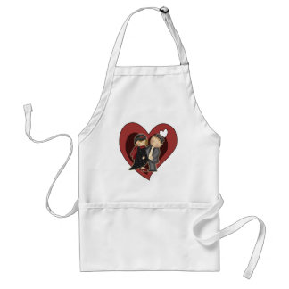 Dress Up Valentine T-shirts and Gifts Standard Apron