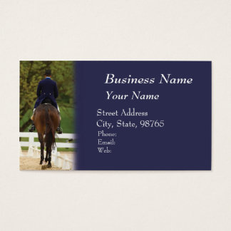 Dressage Business Card