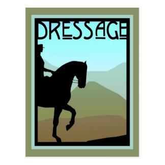 Dressage Craftsman Landscape Postcard