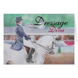 Dressage Diva Card