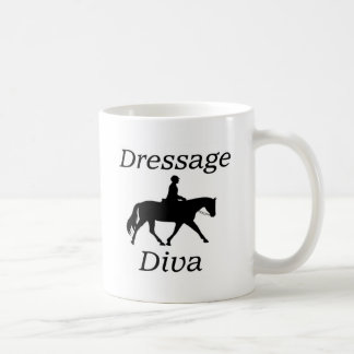 Dressage Diva Horse riding Coffee Mug