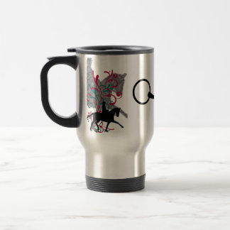 Dressage Elegance Travel Coffee Mug