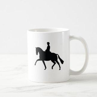 Dressage Horse And Rider Mug