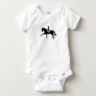dressage horse baby onesie