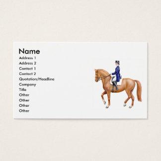 Dressage Horse Business Cards