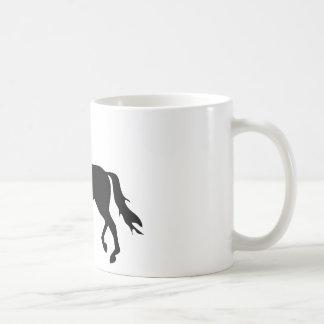 dressage horse coffee mug
