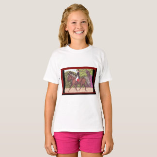 Dressage Horse English style riding tshirt