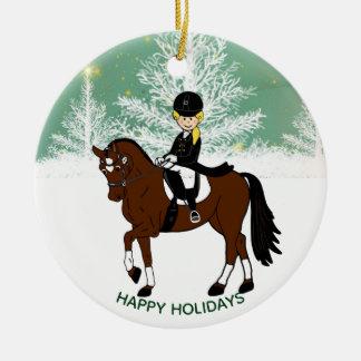 Dressage Horse Rider PHOTO Decoration Personalized