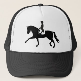 Dressage Horse Trucker Hat
