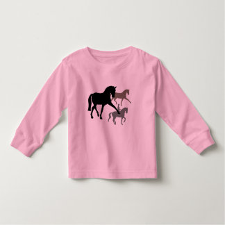 Dressage Horses Trio Toddler T-Shirt
