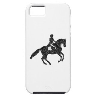 Dressage iPhone Case - Mosaic Horse and Rider