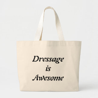Dressage is Awesome Jumbo Tote