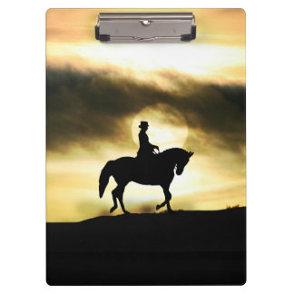 Dressage Rider Clipboard