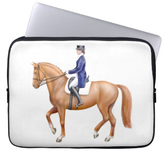 Dressage Show Horse Electronics Bag Laptop Sleeve
