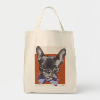 """Dressed for Dinner"" Organic Grocery Tote"