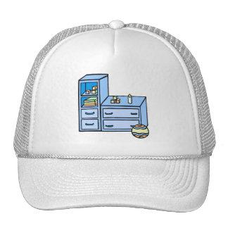 dresser blue cap