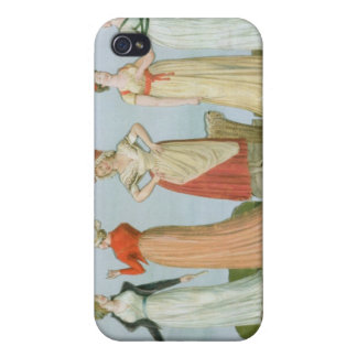 Dresses and costumes in vogue iPhone 4/4S cover