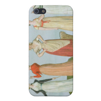 Dresses and costumes in vogue iPhone 5/5S case
