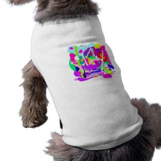 Dresses in a Festival Sleeveless Dog Shirt