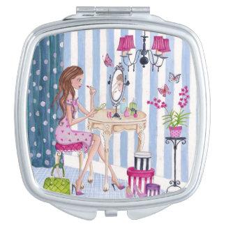 Dressing Room Girl Makeup Mirror