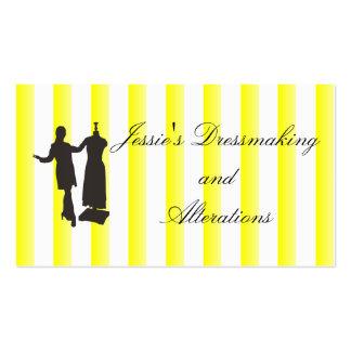 Dressmaking Service Pack Of Standard Business Cards