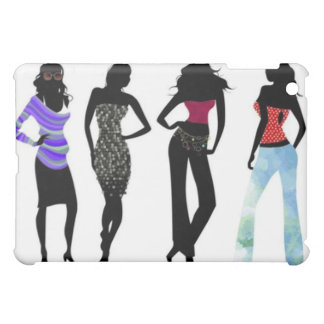 Dressy and Casual Silhouettes Case For The iPad Mini