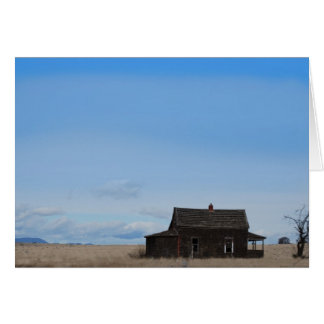 Drew Sullivan - Abandoned House Card