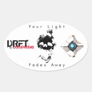 DRFT sticker - light fades
