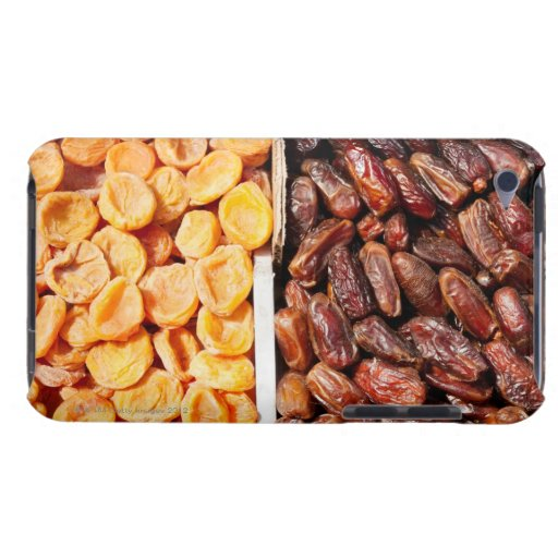 Dried apricots and dates at farmer's market barely there iPod cover