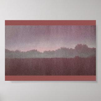 Dried Blood Horizon. Poster