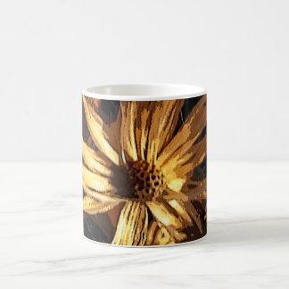 Dried Flower Abstract Mug