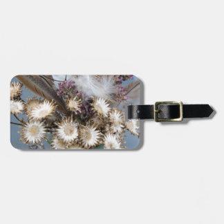 Dried flowers 1 luggage tag