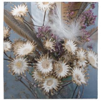 Dried flowers 1 napkin
