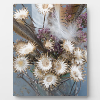 Dried flowers 1 plaque