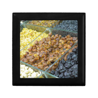 Dried fruit and nuts small square gift box