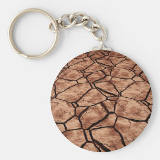Dried Lake Bed Key Ring