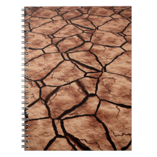 Dried Lake Bed Notebook