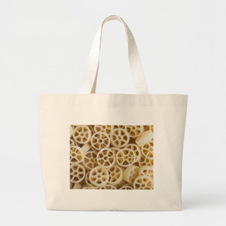 Dried Rotelle Pasta Greeting Jumbo Tote Bag