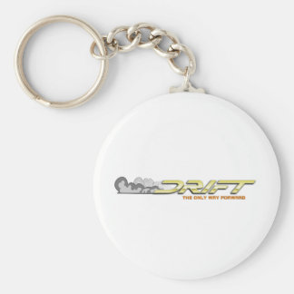 Drift 5 basic round button key ring