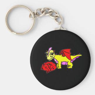 Drift and Shye Basic Round Button Key Ring