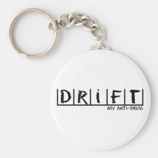Drift Anti-Drug Basic Round Button Key Ring