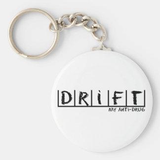 Drift Anti-Drug Keychains