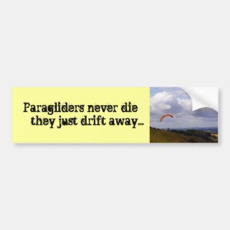 Drift Away Bumper Sticker